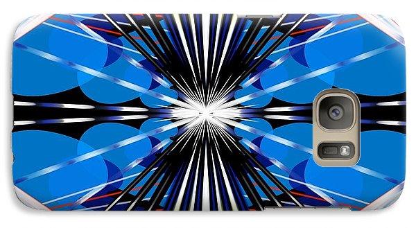 Galaxy Case featuring the digital art Boomerang by Brian Johnson