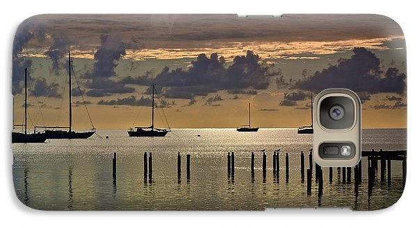 Galaxy Case featuring the photograph Boqueron Sunset by Ricardo J Ruiz de Porras