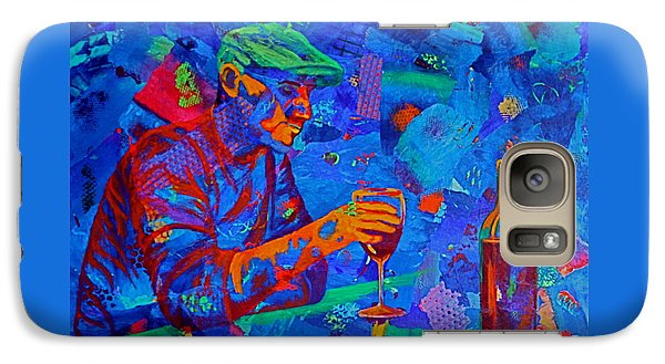 Galaxy Case featuring the painting Bordeaux by Nancy Jolley