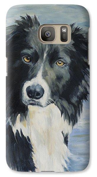 Border Collie Portrait Galaxy S7 Case