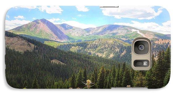 Galaxy Case featuring the photograph Boreas Pass Summer by Lanita Williams