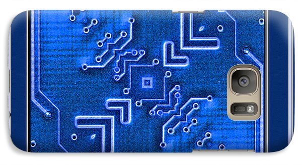 Galaxy Case featuring the photograph Bored Board by Barbara R MacPhail