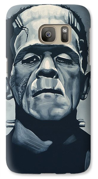 Boris Karloff As Frankenstein  Galaxy S7 Case