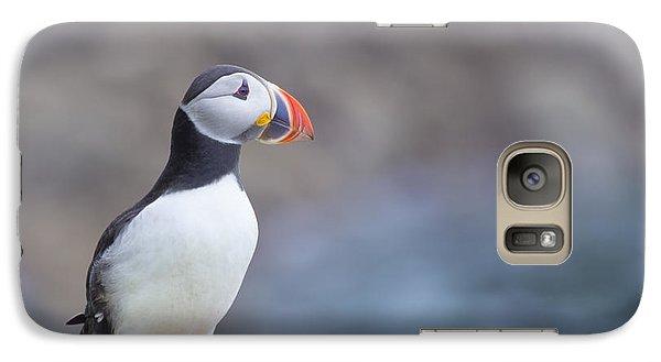 Puffin Galaxy S7 Case - Born Free by Evelina Kremsdorf