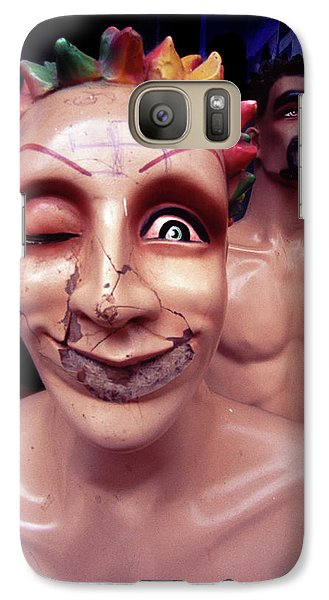 Galaxy Case featuring the photograph Born Slippy  by Richard Piper