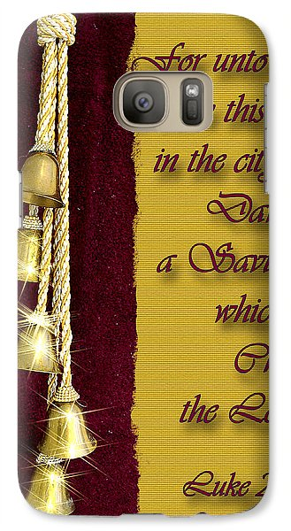 Galaxy Case featuring the photograph Born This Day by Larry Bishop