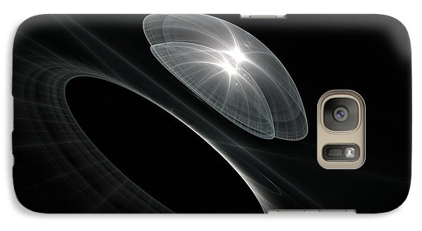 Galaxy Case featuring the digital art Born To Explore by GJ Blackman