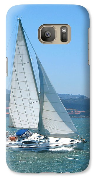 Galaxy Case featuring the photograph Born To Sail by Connie Fox
