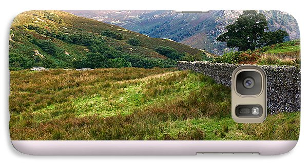 Galaxy Case featuring the photograph Borrowdale Valley In The Lake District by Jane McIlroy