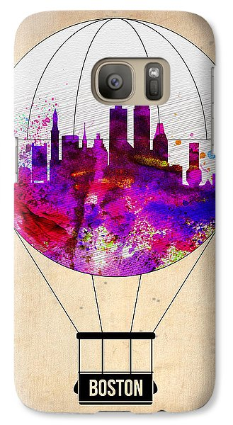 Boston Air Balloon Galaxy S7 Case by Naxart Studio