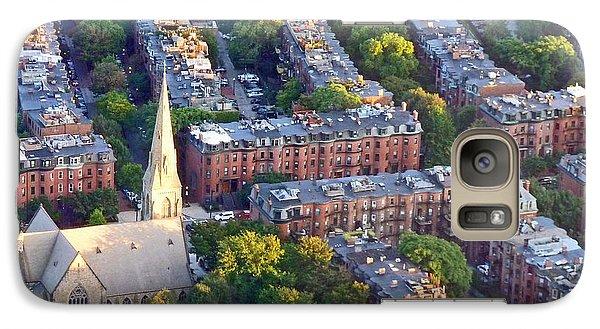Galaxy Case featuring the photograph Boston Church by Cheryl Del Toro