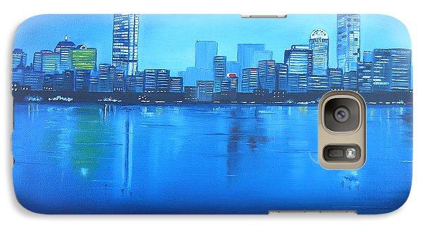 Galaxy Case featuring the painting Boston IIi by Barbara Hayes