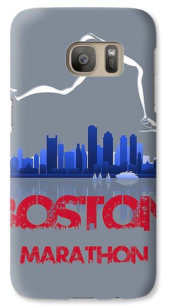 Boston Marathon3 Galaxy S7 Case