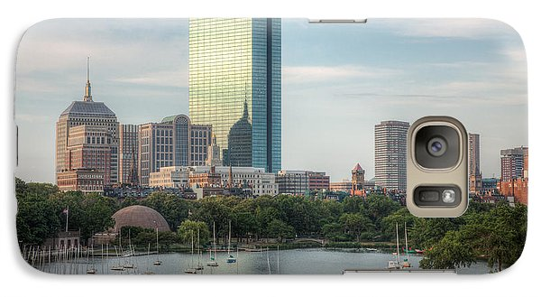 Boston Skyline I Galaxy S7 Case