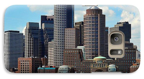 Galaxy Case featuring the photograph Boston Skyline by Randi Grace Nilsberg