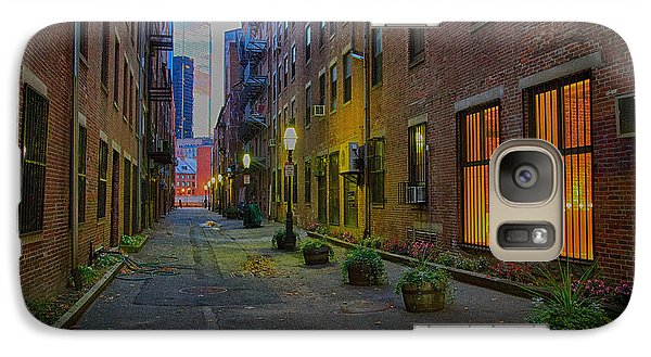 Galaxy Case featuring the photograph Boston Street by John Hoey