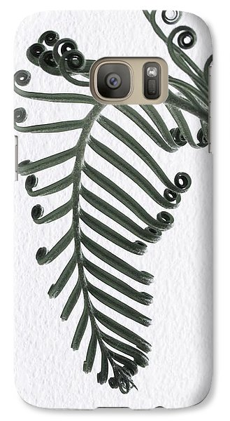Galaxy Case featuring the photograph Botanical Study Sago 1 by Brenda Pressnall