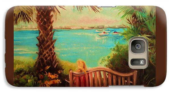 Galaxy Case featuring the painting Botanical View by Yolanda Rodriguez