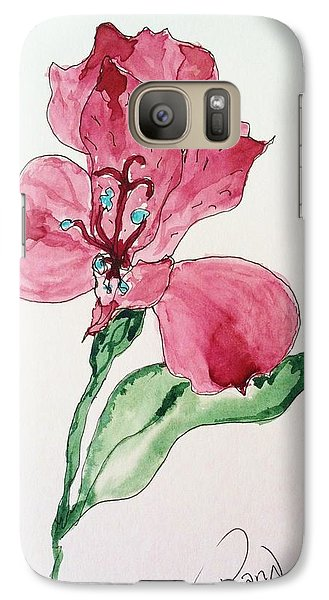 Galaxy Case featuring the painting Botanical Work by Rand Swift