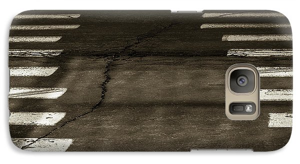Galaxy Case featuring the photograph Both Ways - Urban Abstracts by Steven Milner
