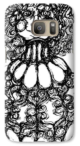 Bottled Lady Galaxy S7 Case by Akiko Okabe