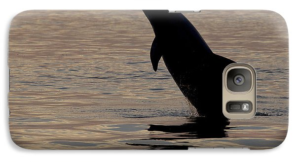 Galaxy Case featuring the photograph Bottlenose Dolphin by Meg Rousher