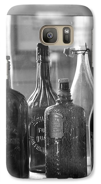 Galaxy Case featuring the photograph Bottles Of Bodie by Jim Snyder