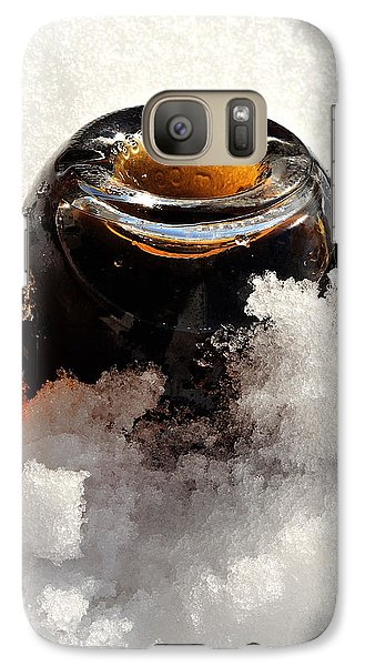 Galaxy Case featuring the photograph Bottoms Up by Marwan Khoury