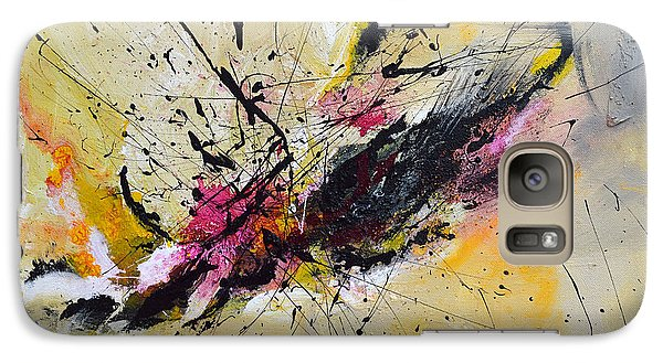 Galaxy Case featuring the painting Boundless Thoughts  by Ismeta Gruenwald