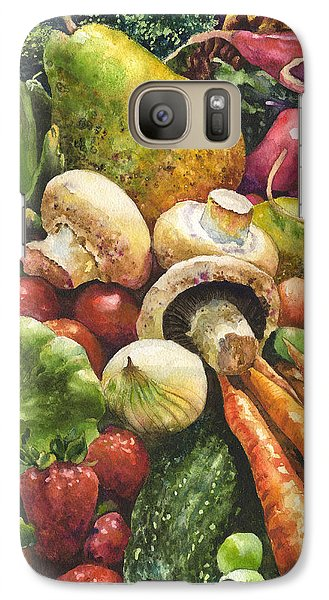 Artichoke Galaxy S7 Case - Bountiful by Anne Gifford