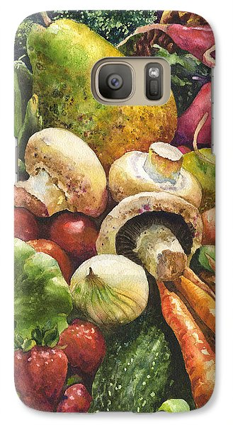 Bountiful Galaxy S7 Case by Anne Gifford