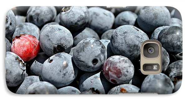 Galaxy Case featuring the photograph Bountiful Blueberries by Kelly Nowak