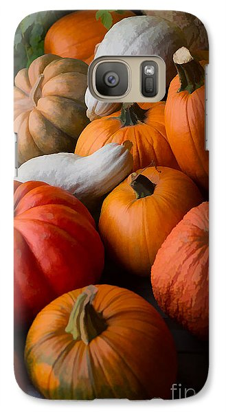 Galaxy Case featuring the photograph Bountiful Harvest by Michael Flood