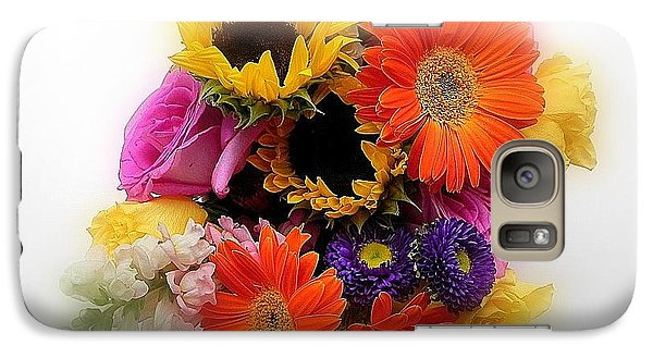 Galaxy Case featuring the photograph Bouquet Of Color by Peggy Stokes