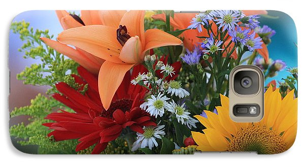 Galaxy Case featuring the photograph Bouquet Of Flowers by Geraldine DeBoer