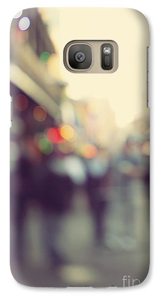 Galaxy Case featuring the photograph Bourbon Bokah by Heather Green