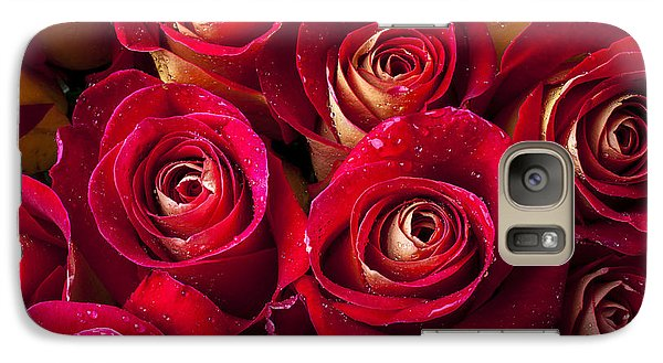 Rose Galaxy S7 Case - Boutique Roses by Garry Gay