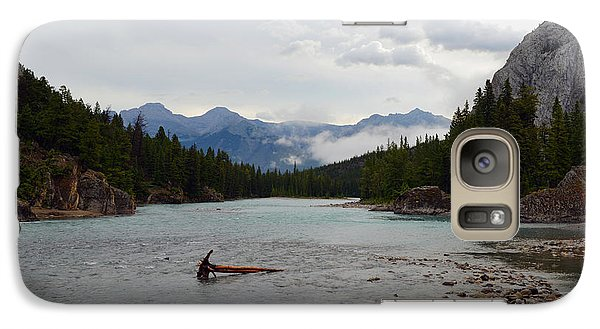 Galaxy Case featuring the photograph Bow River by Yue Wang