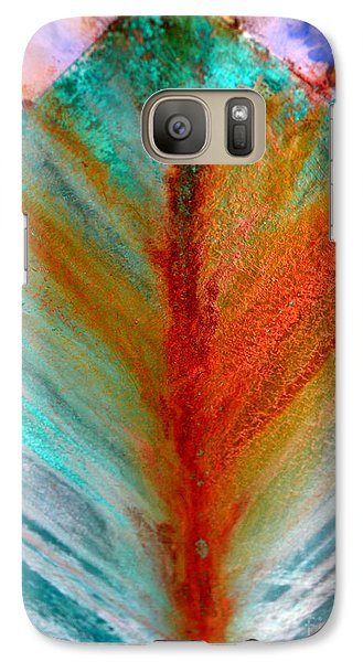Galaxy Case featuring the photograph Bow Splash by Robert Riordan