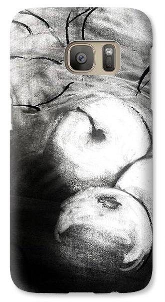 Galaxy Case featuring the drawing Bowl by Helen Syron