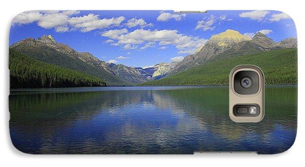 Galaxy Case featuring the photograph Bowman Lake Montana by Kathleen Scanlan