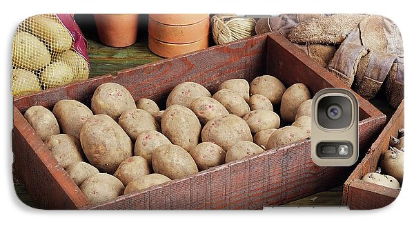 Box Of Potatoes Galaxy S7 Case