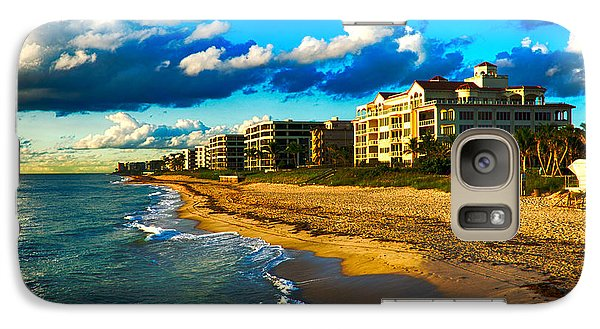 Galaxy Case featuring the photograph Boynton Beach South by Don Durfee
