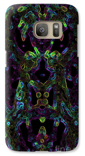 Galaxy Case featuring the digital art Brain Activity Variation 2 by Devin  Cogger