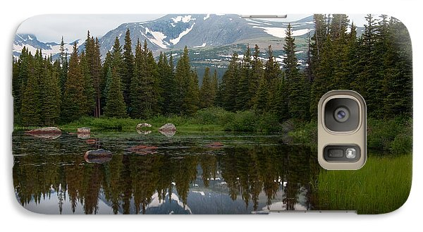 Galaxy Case featuring the photograph Brainerd Lakes Spring Rain by Eric Rundle