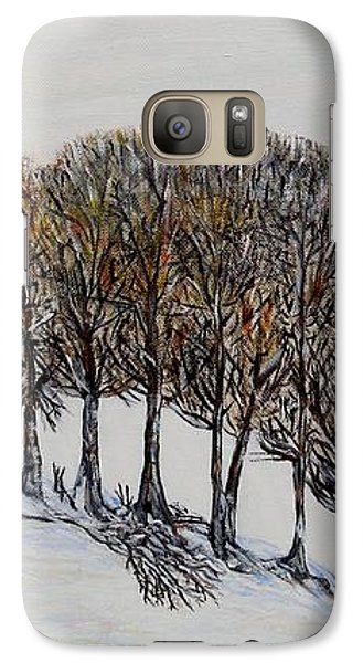 Galaxy Case featuring the painting Branch Broken by Marilyn  McNish