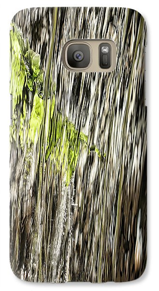 Galaxy Case featuring the photograph Branch In Waterfall by Gregory Scott
