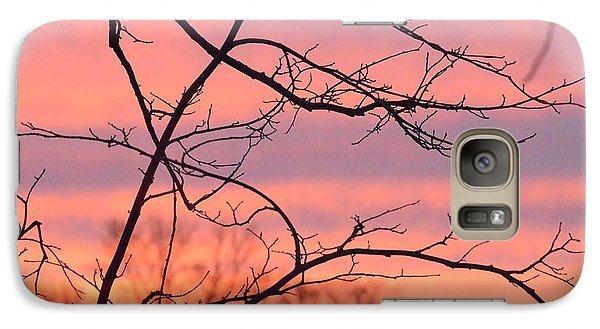 Galaxy Case featuring the photograph Branches Meet The Sky by Dacia Doroff