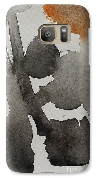 Galaxy Case featuring the painting Brandon 3 by Fred Wilson