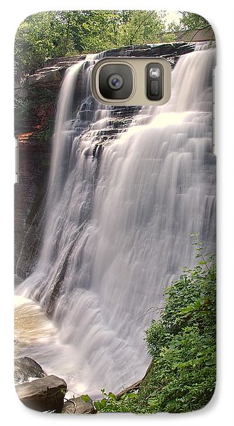 Galaxy Case featuring the photograph Brandywine Falls by Dennis Lundell